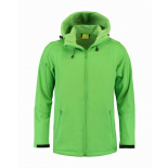 L&s jacket hooded softshell  for him - Premiumgids