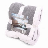 Deluxe blanket checkered grey - Premiumgids