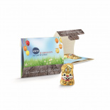 Promo-wrap with chocolate bunny - Premiumgids