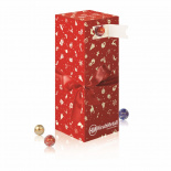 Tower advent calendar with mini chocolate balls lindt - Premiumgids