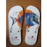 Custom made slippers - ATOS ORIGIN - zomerse relatiegeschenken - Topgiving