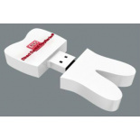 Custom made USB stick bedrukt als relatiegeschenken - Direct Dental Supplies - Topgiving