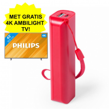 Powerbank - Met gratis Philips 4K TV! - Topgiving