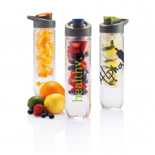 Waterfles met infuser - Topgiving
