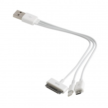 3-Way Charger USB oplader - Topgiving