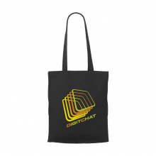 Black Canvas shopper - Topgiving
