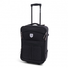 Vintage Canvas Trolley Bilbao Washed Black - Topgiving