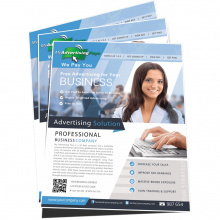 Flyer A4 formaat - Premiumgids