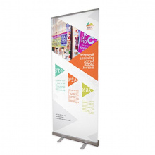 Roll-up banner budget - foto kwaliteit - Premiumgids