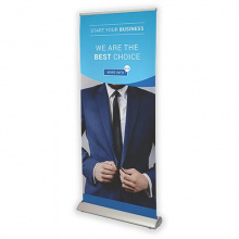 Roll-up banner deluxe - Premiumgids
