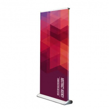 Roll-up banner dubbel - Premiumgids