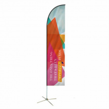Feather beachvlag 92 x 430 cm - Topgiving