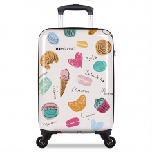 Fully printed suitcase - Topgiving