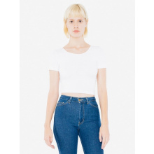 Ama t-shirt crop cot/spandex for her - Premiumgids