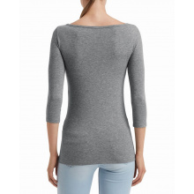 Anvil t-shirt stretch 3/4 sleeve for her - Topgiving