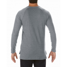 Anvil t-shirt long & lean lightweight ls for him - Topgiving