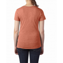 Anvil t-shirt crewneck triblend ss for her - Topgiving