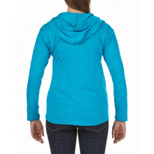 Anvil jacket hooded full-zip tri-blend for her - Topgiving