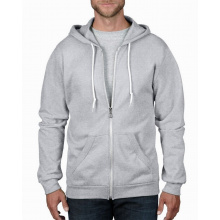 Anvil sweater hooded zip for him - Premiumgids