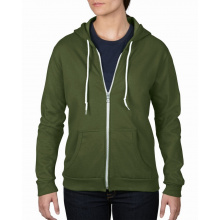 Anvil sweater hooded zip for her - Premiumgids