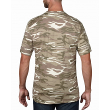 Anvil t-shirt camouflage midweight ss - Topgiving