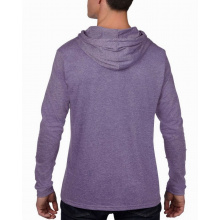 Anvil t-shirt hooded lightweight ls for him - Topgiving