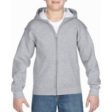 Gildan sweater hooded full zip heavyblend for kids - Topgiving
