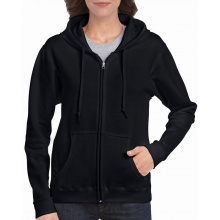 Gildan sweater hooded full zip heavyblend for her - Topgiving