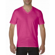 Gildan v-neck t-shirt premium cotton for him - Premiumgids