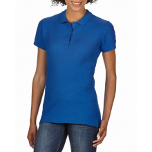 Gildan polo premium cotton double pique ss for her - Premiumgids