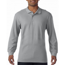 Gildan polo premium cotton double pique ls for him - Premiumgids