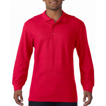 Gildan polo premium cotton double pique ls for him - Topgiving