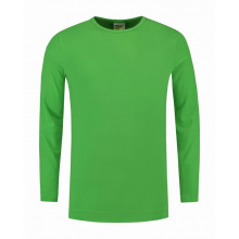 L&s t-shirt crewneck cot/elast ls for him - Topgiving