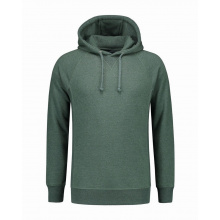 L&s melange hooded sweater for him - Premiumgids