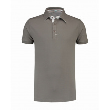 L&s polo cot/elast ss for him - Premiumgids