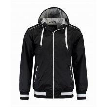 L&s jacket hooded nylon unisex - Topgiving