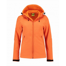 L&s jacket hooded softshell for her - Premiumgids