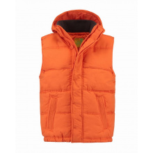 L&s bodywarmer hooded unisex - Topgiving
