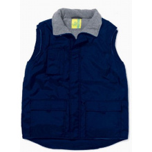 L&s bodywarmer oxford/polar fleece - Premiumgids