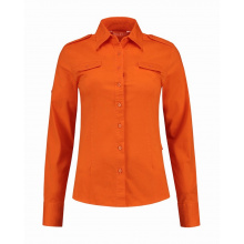 L&s shirt twill ls for her - Premiumgids