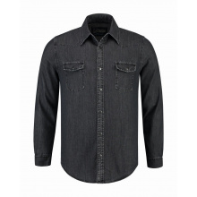 L&s denim shirt for him - Premiumgids