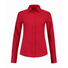 L&s shirt poplin ls for her - Premiumgids