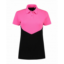 L&s contrast sports poloshirt for her - Premiumgids