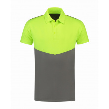 L&s contrast sports poloshirt for him - Premiumgids