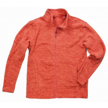 Stedman melange fleece jacket active for him - Premiumgids