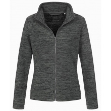 Stedman melange fleece cardigan active for her - Topgiving