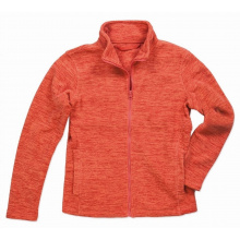 Stedman melange fleece jacket active for her - Premiumgids