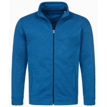Stedman knit fleece cardigan active for him - Premiumgids