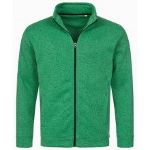 Stedman knit fleece cardigan active for him - Topgiving