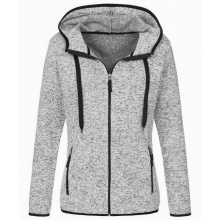Stedman knit fleece cardigan active for her - Topgiving